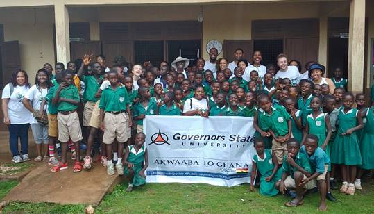 Students in Ghana